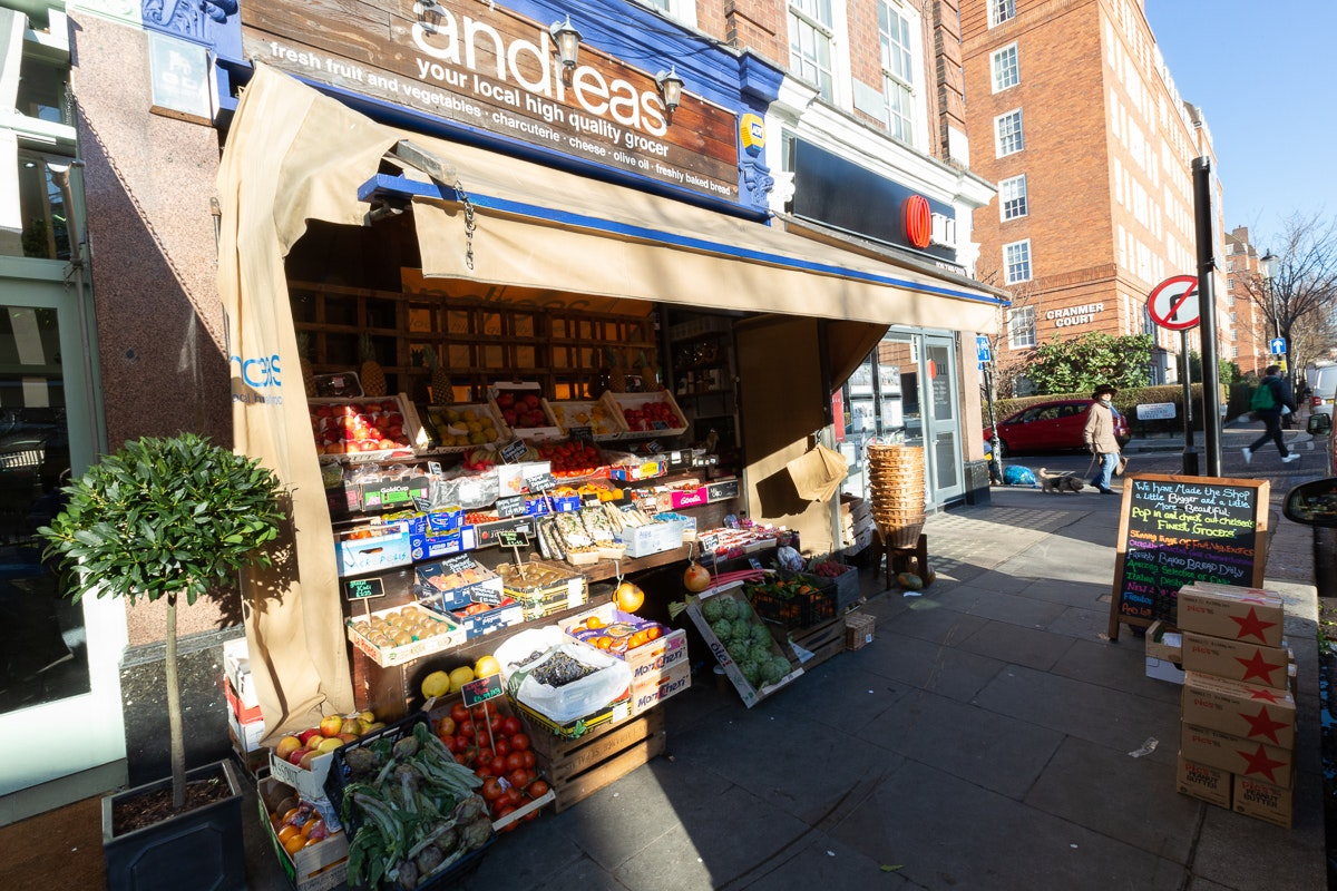 New Covent Garden Market Customer Profile February 2018 Andreas Veg Exterior