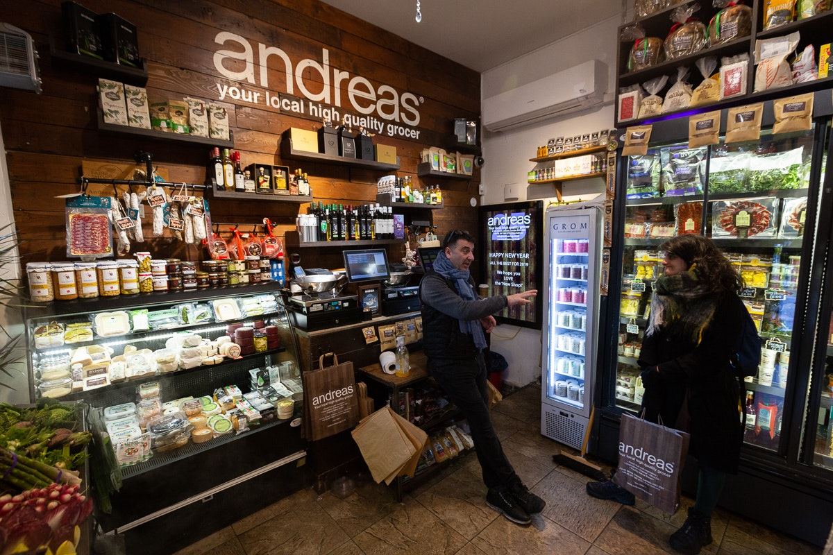 New Covent Garden Market Customer Profile February 2018 Andreas Veg Interior Wide