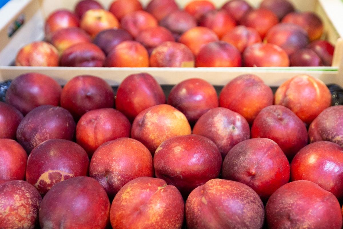 New Covent Garden Market Nectarines