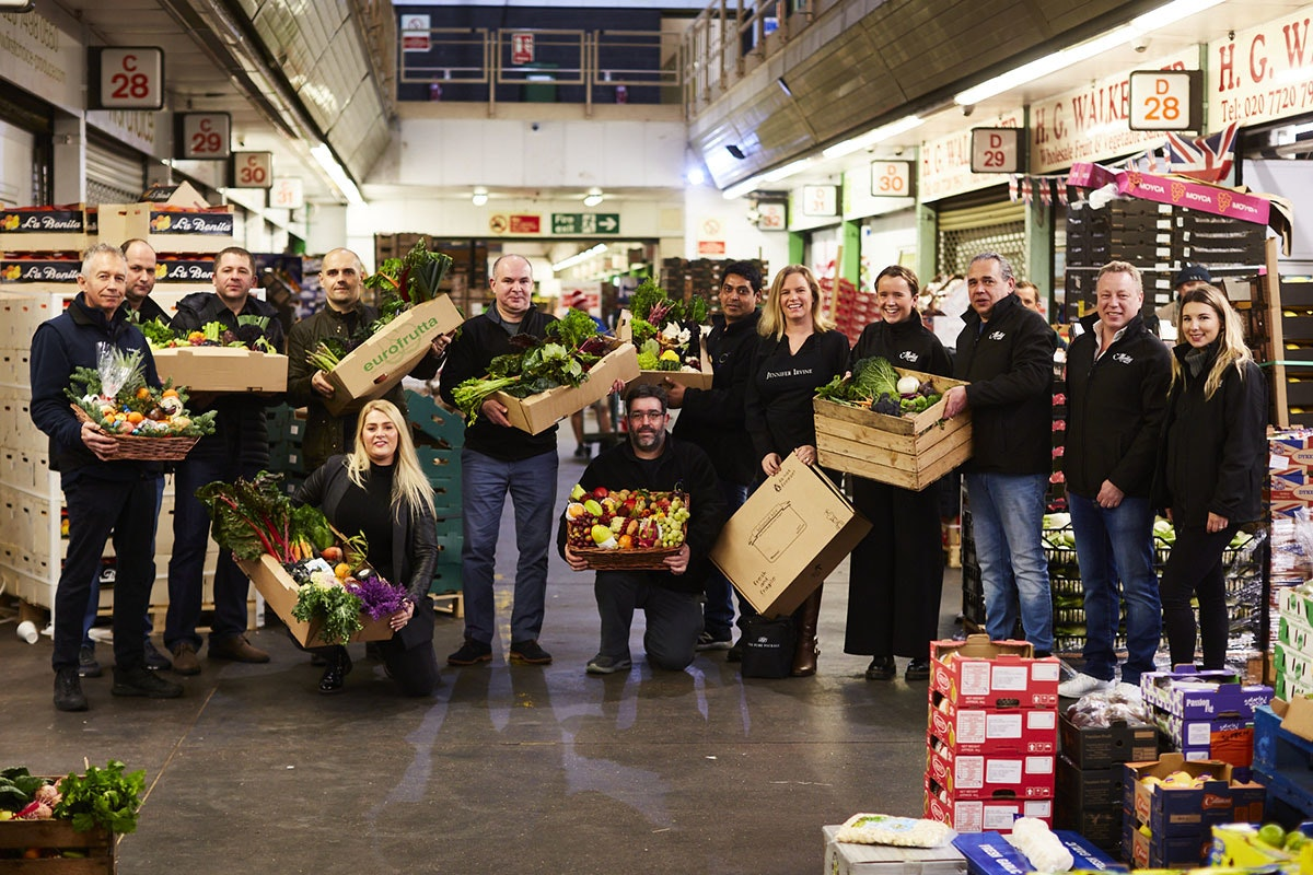 New Covent Garden Market New Start 2021 Trader Group Shot