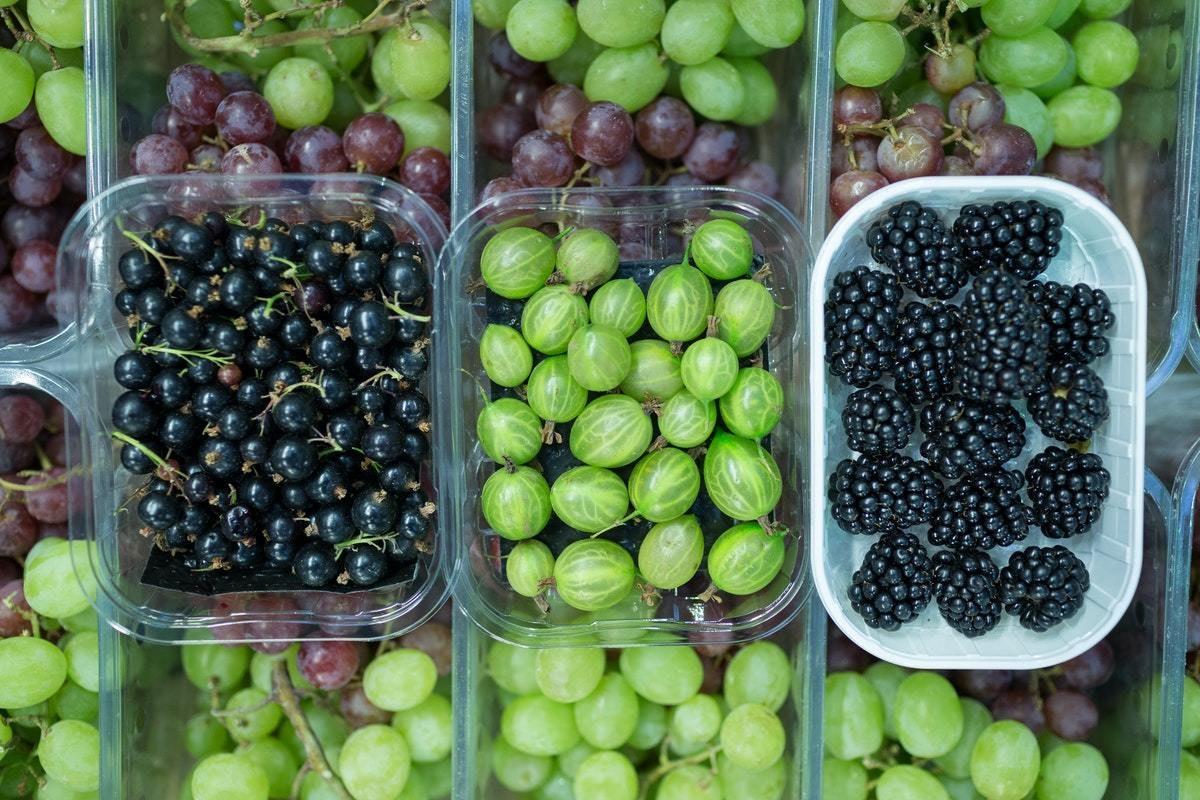 New Covent Garden Market Soft Fruit