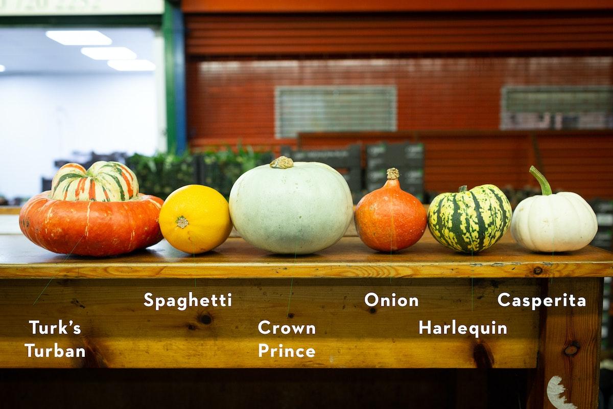 New Covent Garden Market Squash Varieties