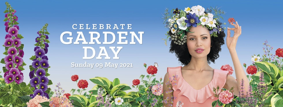 Celebrate the power of flowers on Garden Day, 9th May