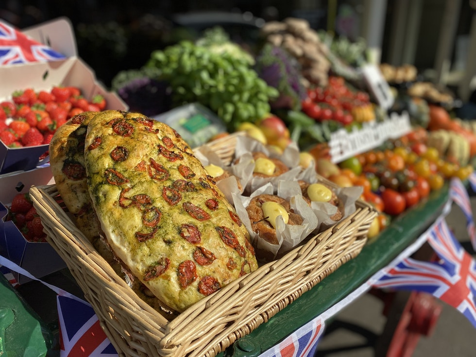 Great British bake on at Coughlans