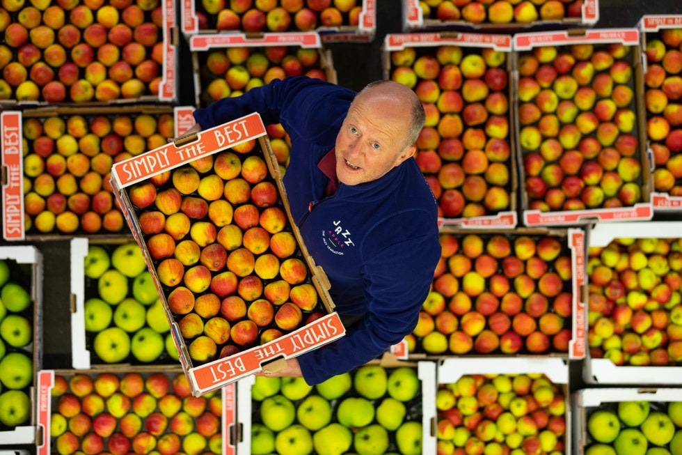 The market is a crucial cog in the British apple season