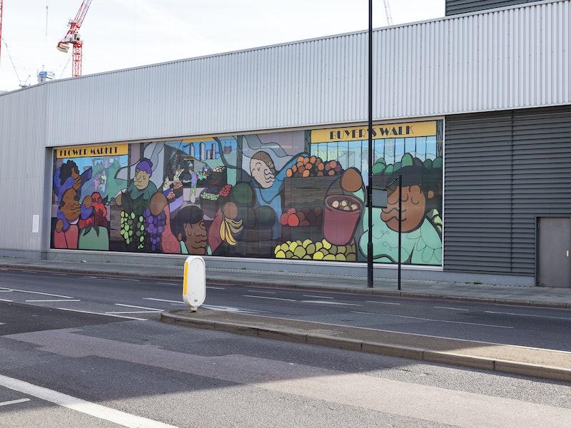 Call for Artists – New Covent Garden Market Vitrine Art Commission 2021