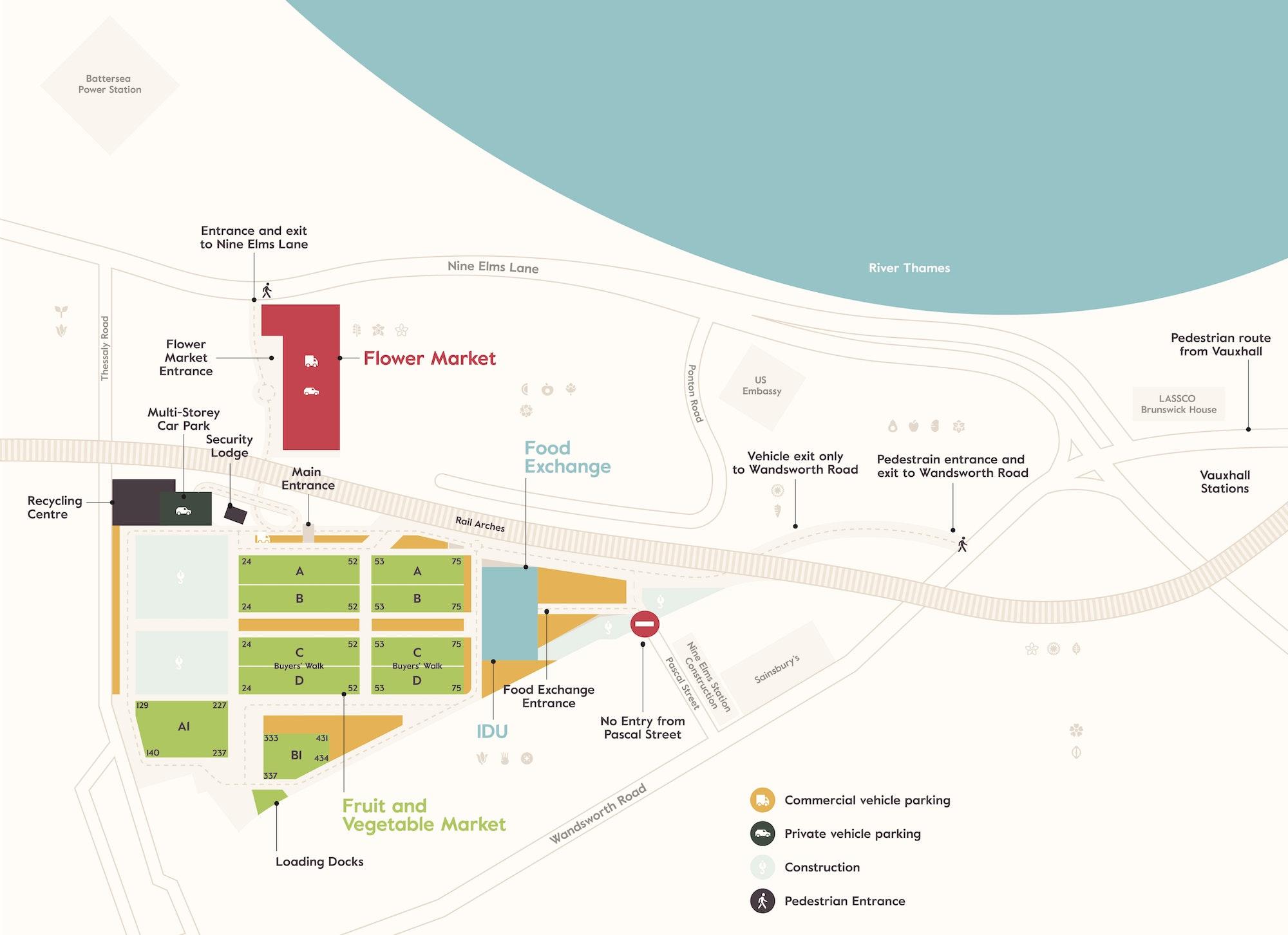 New Covent Garden Market Map 26 04 Final