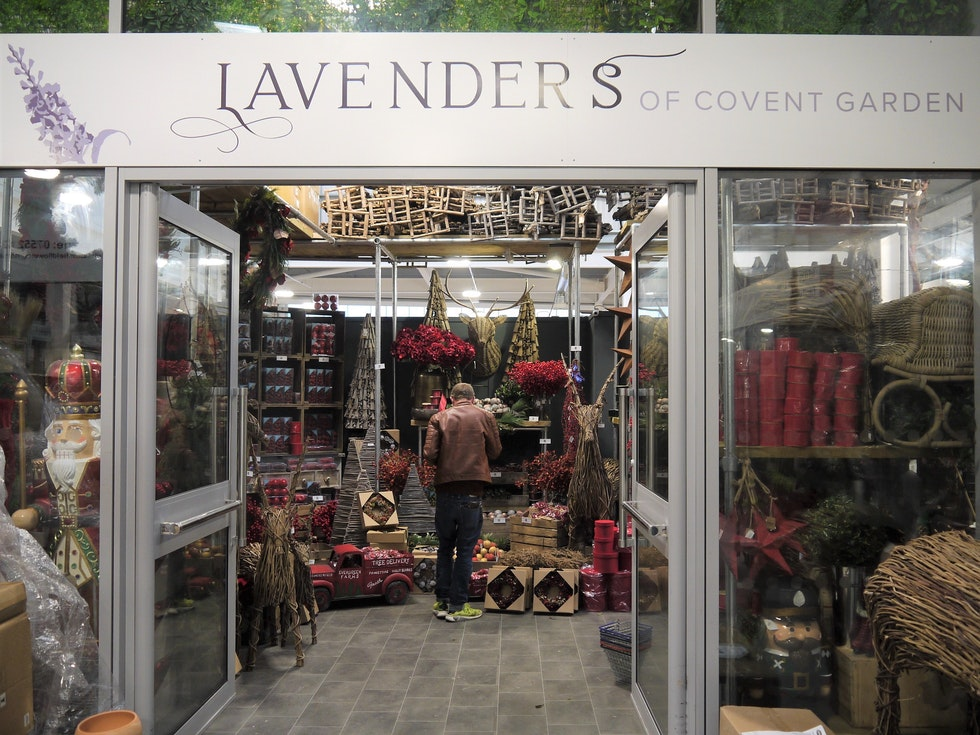 Lavenders of Covent Garden opens at the Flower Market