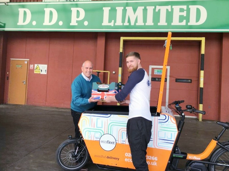 Eco-bikes add to the DDP service