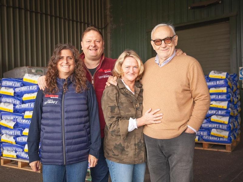 Koffmann's success built on British farming family values