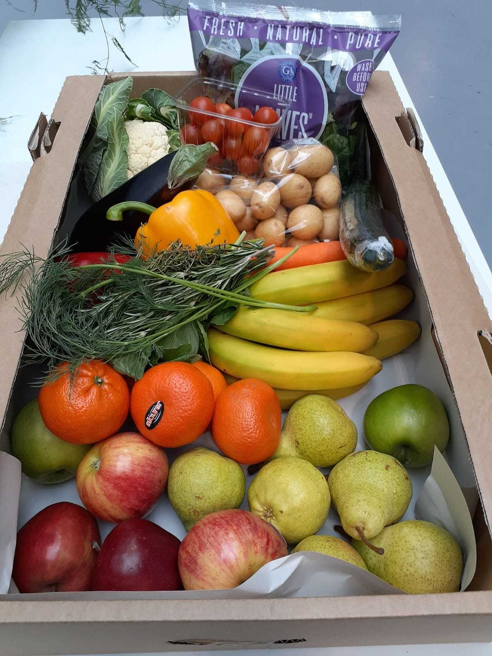 Home deliveries of fresh fruit & veg from New Covent Garden Market businesses