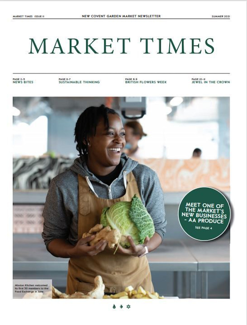Summer 2021 issue of Market Times is out now