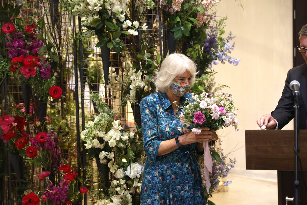HRH The Duchess of Cornwall launches British Flowers Week