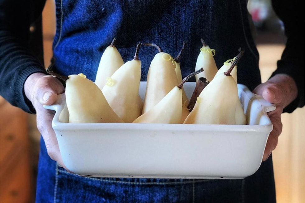 A chef's guide to pears