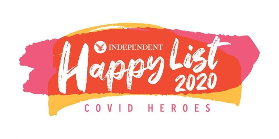 The Independent's Happy List 2020