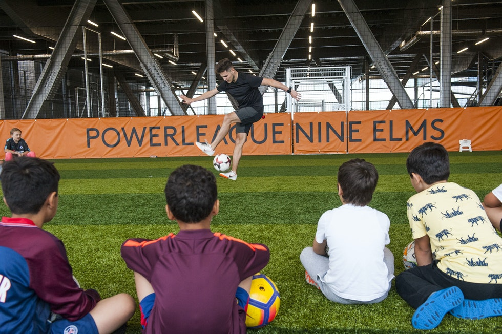 Stories from the market - The market's new football pitches